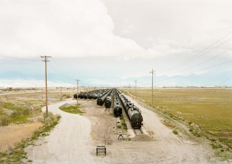 Untitled, (Tankers), Salt Lake City,2018. Chromogenic print.