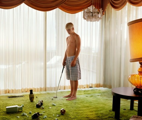 Home Alone, 2007, 32 x 43 inch archival pigment print. Please inquire for additional sizes