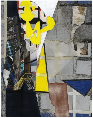 Mary Lum,Untitled I,2021. Collage, 13 7/8 x 11 inches.