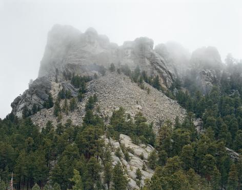Mitch Epstein,Mount Rushmore,2018. Chromogenic print, 45 x 58 inches. Also available as: chromogenic print, 70 x 92 inches.