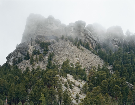 Mount Rushmore,2018. Chromogenic print.