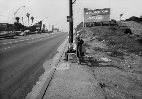 Anthony Hernandez,Public Transit Areas #10,1980. Archival pigment print, 28 x 40 inches.