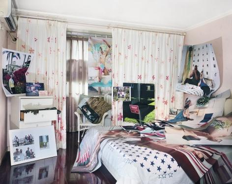 Parents' Bedroom, 2018. Archival pigment print.