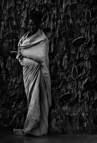 Zanele Muholi,Khala, Women's Jail, Constitution Hill, Johannesburg,2017. Gelatin silver print, 31 1/2 inches x 21 1/2 inches.