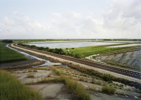 Untitled (Train Tracks), Port Lavaca, Texas, 2015.
