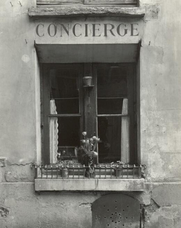 Rue du Bac, Paris 1949 Gelatin silver print
