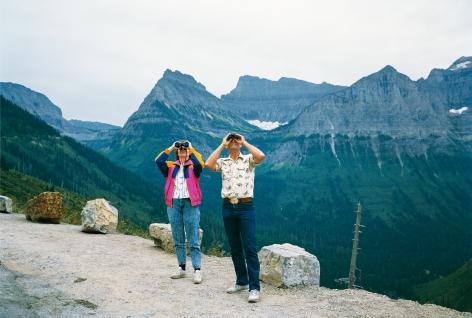 Glacier National Park, Montana, 1988. Chromogenic print, 28 x 42 inches.