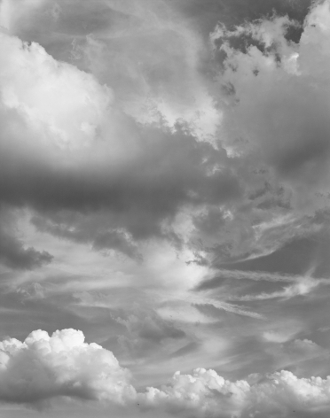 Clouds #89, New York City, from the series Rocks and Clouds, 2015. Gelatin silver print, 40 x 30 or 68 x 54 inches.