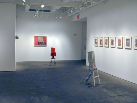 Installation view of Home exhibition at Yancey Richardson Gallery, 2008