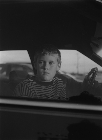 Elberton, GA (boy in car window) 1995 Gelatin silver print, please inquire for available sizes