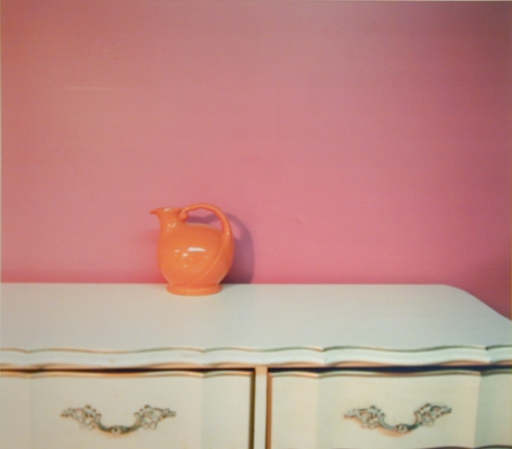 Urn and Dresser,2003, chromogenic print, 20 x 24 inches, editio nof 10; 50 x 50 inches, edition of 6