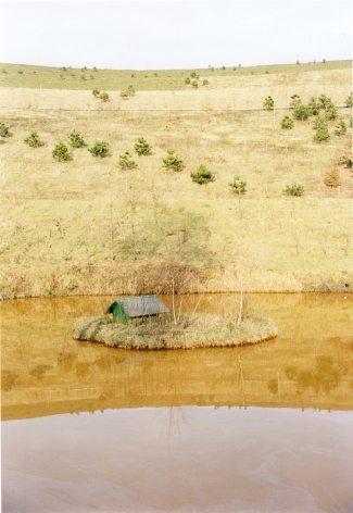 Jitka Janzlova,Untitled #1(Yellow Sea)from the seriesHier, 1998, 2003-2010, 12 x 8 inch chromogenic print.