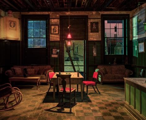 Back Room at theHarmony Club, Selma, AL,2017. Archival pigment print