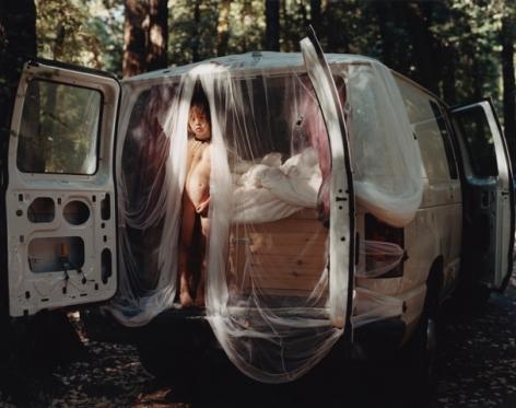 Justine Kurland,Casper's Last Naked,2010, 30 x 40 inch chromogenic print.
