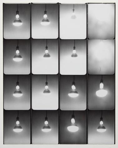 Jared Bark,Untitled, PB #1031, 1974. Vintage gelatin silver photobooth prints, 8 x 6 1/2 inches. Unique.