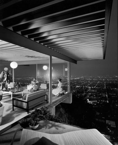 Julius Shulman,Case House Study #22, 1960, 20 x 16 inch gelatin silver print.