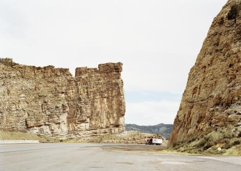 Untitled, (Castle gate), Carbon County, Utah,2018. Chromogenic print.