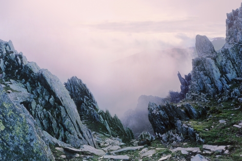 Far Off Mountains and Rivers, from the seriesEvaders, 2009, 59 7/8 x 90 1/2 inch archival pigment print