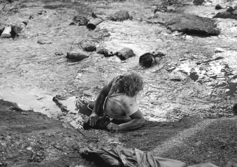 Knoxville, TN (man in creek) 1992