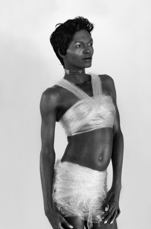 Zanele Muholi, Yaya Mavundla I, Parktown, Johannesburg, 2017. Gelatin silver print, 34 x 24 inches.