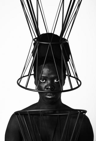 Zanele Muholi,Phumula, Paris, France, 2019. Gelatin silver print,27 1/2 x 19 inches.