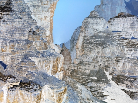 The Dolomites Project #7, 2010. 65 x 85 inch archival pigment print. AP 3/3.