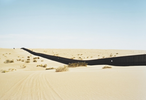 Untitled (Dunes) near El Centro, California, 2010, 39 x 55 or 55 x 75 inch chromogenic print