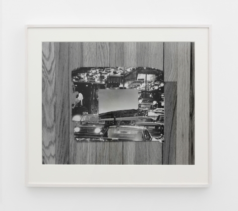 Leslie Hewitt,Riffs on Real Time (6 of 10),2012-2017. Gelatin silver print, 31 x 37 3/4 inches. Courtesy of the Artist and Perrotin.