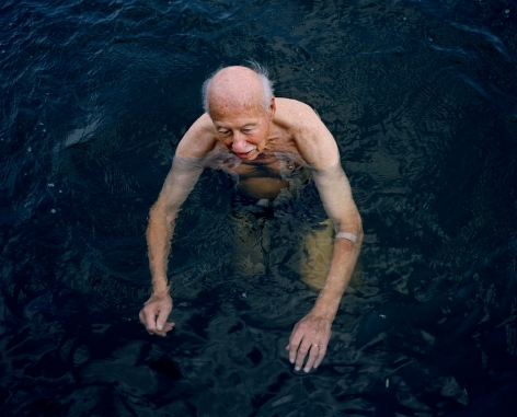 Dad, Hampton Ponds III, from the series Family Business, 2003. Chromogenic print,30 x 40 or 50 x 60 inches.