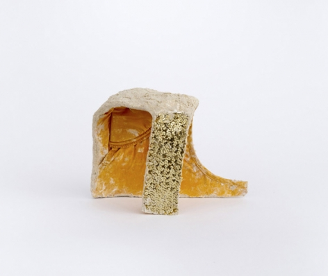 Jennifer Cohen, Untitled (Yellow Shoulder Pad),  2012