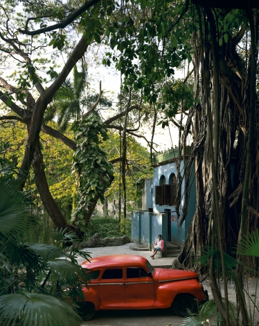 Rosa en la Tropical, from the series Cuba, 2000. Archival pigment print. Available at 40 x 30 inches, edition of 10, or 50 x 40 inches, edition of 5, or 60 x 50 inches, edition of 3, or 90 x 70 inches, edition of 3.