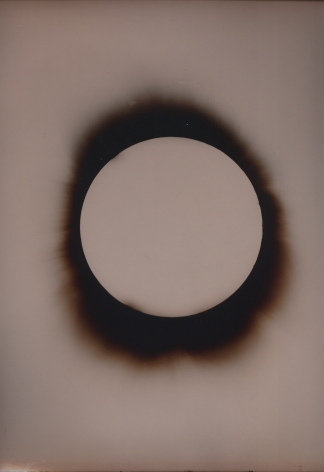Linda Connor,Negative Plate June 8, 1918, 1995 Printing out paper print,12 x 10 inches