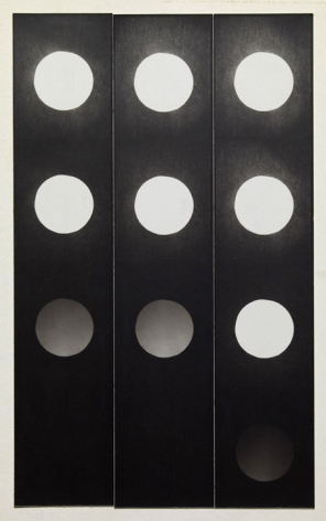 Jared Bark, Untitled, PB #1059, 1973. Vintage gelatin silver photobooth prints, 8 x 4 3/4 inches overall.