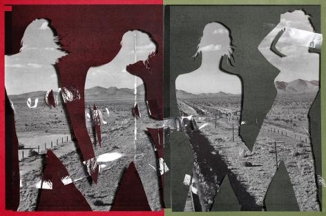 Peaks,2019. Archival pigment print, 53 x 80 inches.