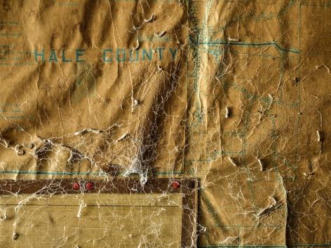 Hale County Map, Marion, AL, 2018. Archival pigment print.