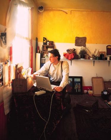 The Anthropologist, 1997, 24 x 20 or 60 x 48 inch Cibachrome print