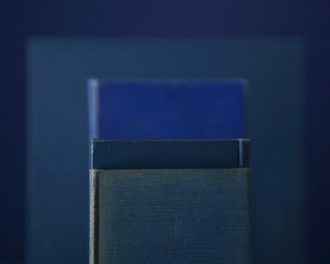 Easy Hymns, from the seriesBlue Books, 2010. Archival pigment print, 28 x 35, 20 x 25, or 14 1/2 x 18 inches.