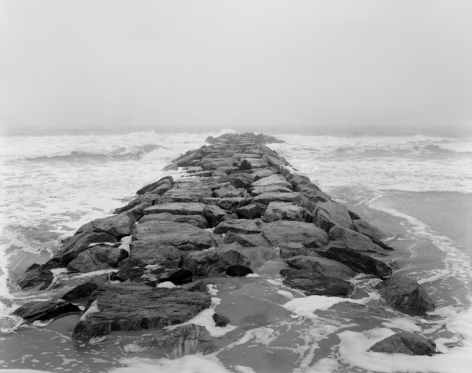 Rockaway, Queens 2014, Gelatin silver print, 68 x 54 inches, Edition of 6