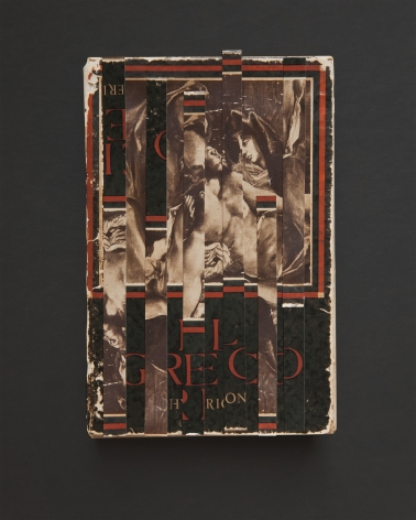 El Greco,from the seriesJackson Pollock's Books, 2018. Photograph of collaged photographs, archival pigment print, 20 3/4 x 17 inches.