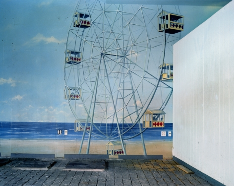 Ferris Wheel Mural Broadway Arcade Times Square, 2004. Archival pigment print, 30 x 40 inches.