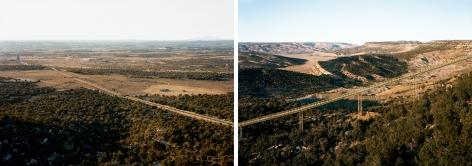 Untitled, (Coal conveyor belt), Near Kayenta, Apache-Navajo Counties, Arizona,2017. Chromogenic print.