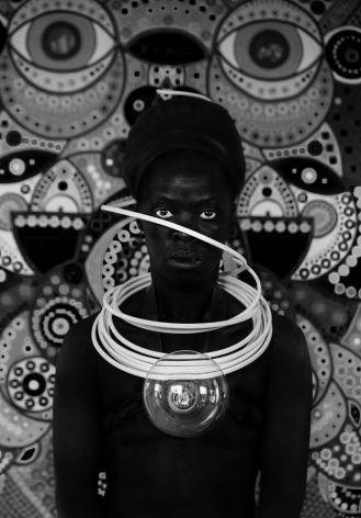 Zanele Muholi,Tanji, Oslo,2018. Gelatin silver print, 19 1/2 x 13 3/4 inches.