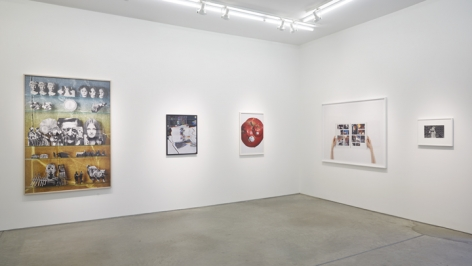 Installation view Matt Lipps, Sara Cwynar, Roe Ethridge, Anne Collier, Kenneth Josephson