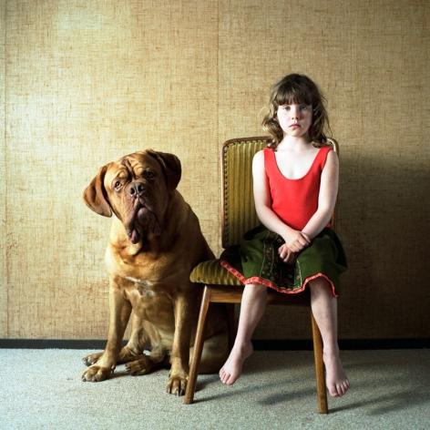 Hellen van Meene,Untitled #389,2012. Chromogenic color print, 16 x 16 inches.