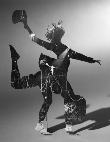 Matt Lipps, Balance, 2020. Gelatin silver print. Image: 13 1/2x 10 1/2inches; framed: 21 x 17 inches.