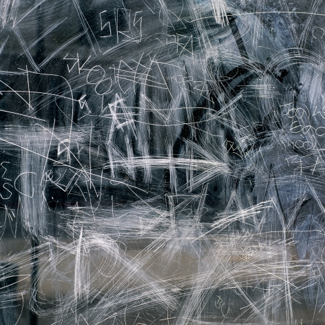 After LA#22, 1998. Archival pigment print.Image dimensions 40 x 40 inches, framedimensions 47 x 47 inches.