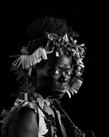 Zanele Muholi,Banda I, Morwa, Botswana, 2019. Gelatin silver print, 24 3/4 x 19 3/4 inches.