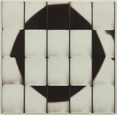 Jared Bark,Untitled, PB #1168,1973. Vintage gelatin silver photobooth prints, 7 7/8 x 7 7/8 inches. Unique.