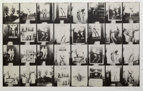 Untitled, PB #1010, 1972. Gelatin silver photobooth prints, vintage.