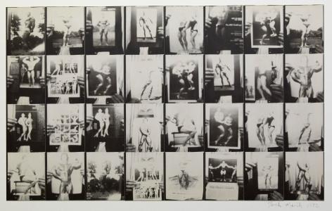 Untitled, PB #1010, 1972. Gelatin silver photobooth prints, vintage.